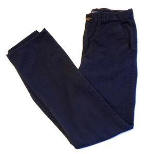 Gap boys navy blue chinos size16 slim straight fit
